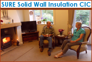 SURE Solid Wall Insulation CIC