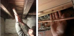 Underfloor Insulation and Air Tightness Work